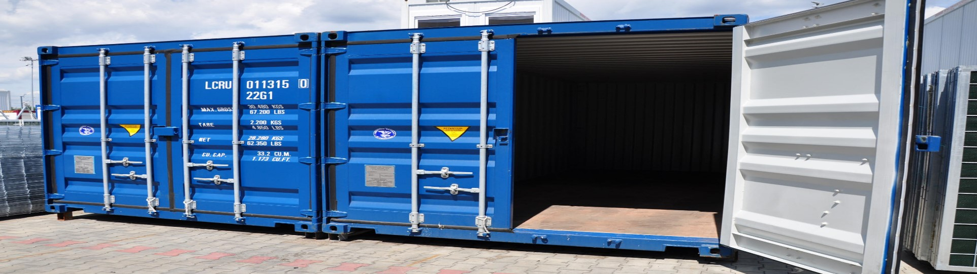 Sea container conversion