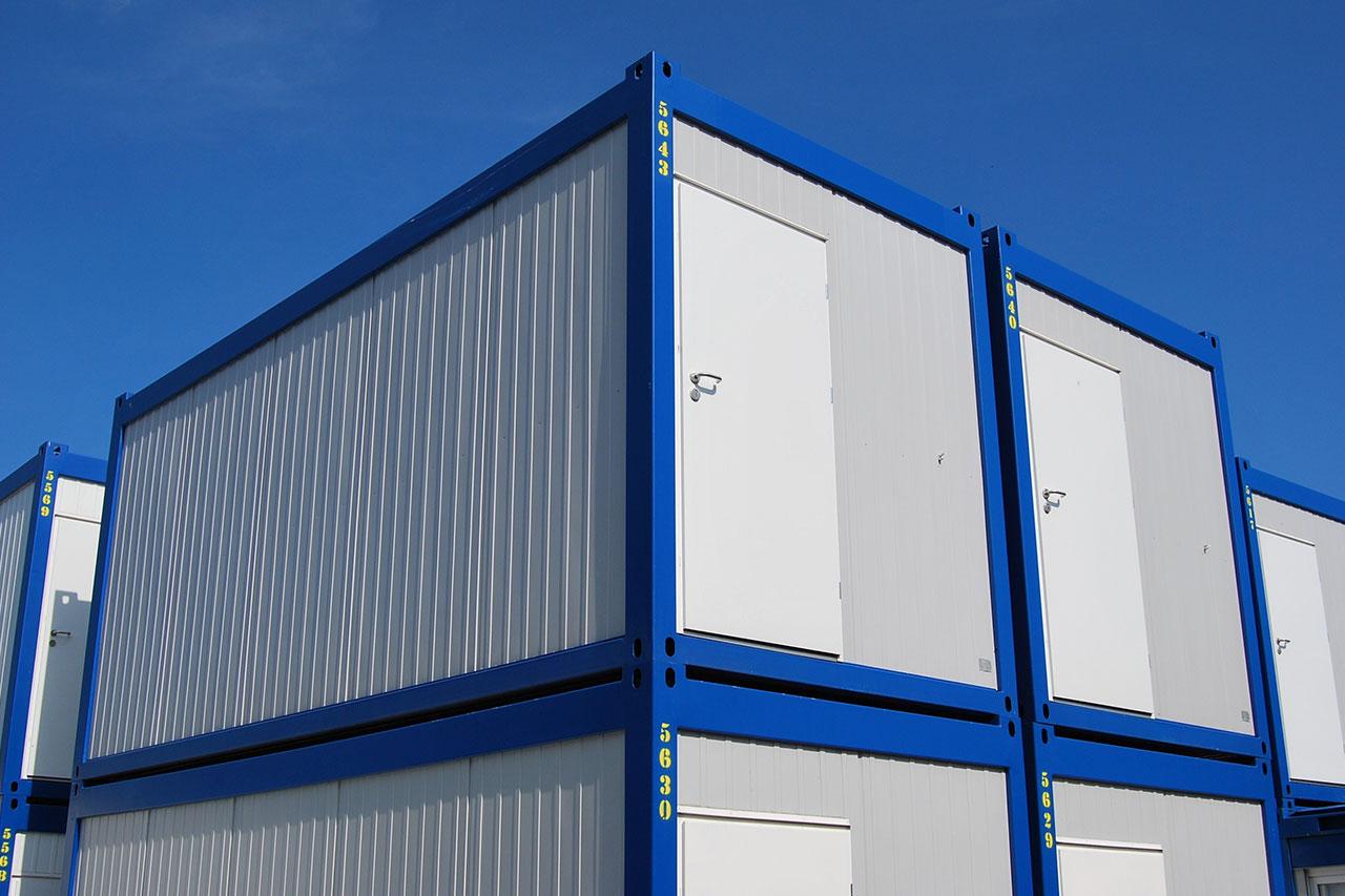 Container Per Ufficio Usati : Prefabbricati container abitativi cantiere uffici box polonia