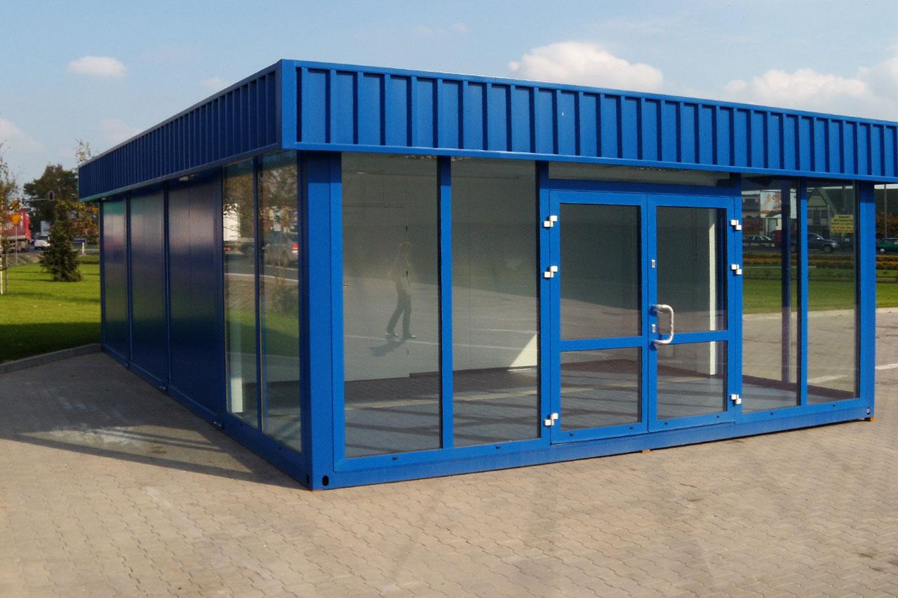 Ufficio A Container : Prefabbricati container abitativi cantiere uffici box polonia