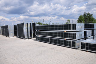 tower electrical steel building container noise barriers welding Poland manufacturer Poland