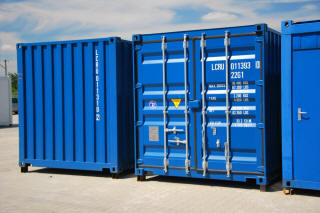 Sea container conversion Polen